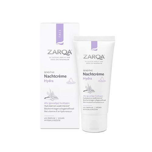 Zarqa Sensitive Nachtcrème Hydra
